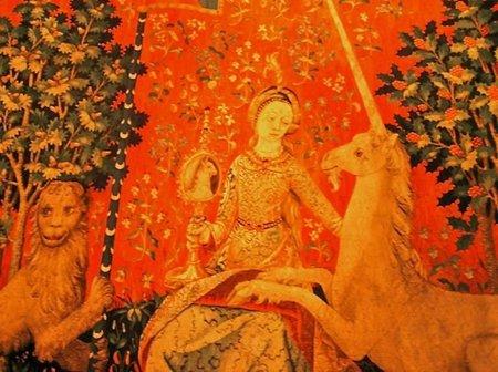 Dama del Unicornio Cluny París