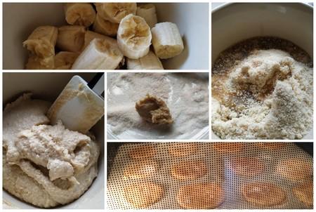 galletas de platano y sirope de arce