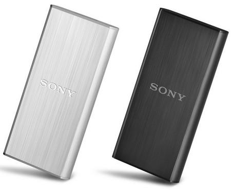 Sony pone a la venta sus nuevos discos duros externos SSD con USB 3.0