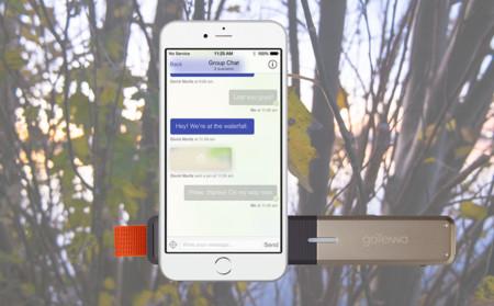 GoTenna, el gadget que permite la comunicación con tu móvil aunque no haya conexión