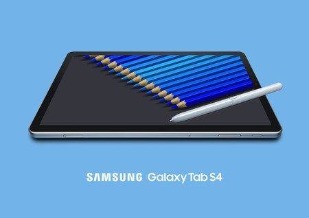 b46c600fe5a Samsung Galaxy Tab S4: menos marcos, más batería y más almacenamiento para  el nuevo y