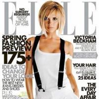 Victoria Beckham en la revista Elle