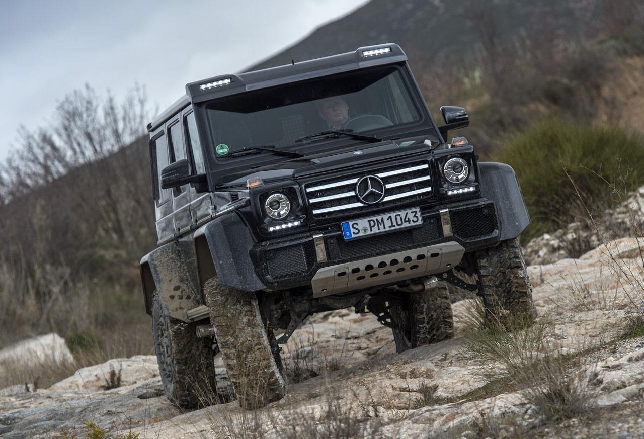 Foto de Mercedes-Benz G 500 4x4², toma de contacto (52/127)