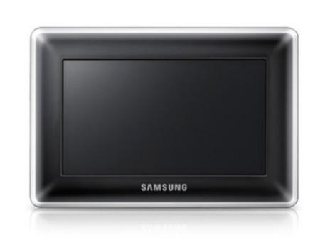 Marco digital de Samsung con 1 GB de memoria interna