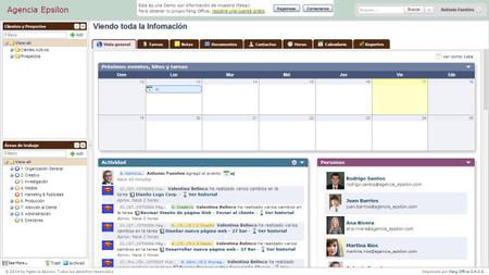 Feng Office, gestión de la productividad de la empresa online y de código libre