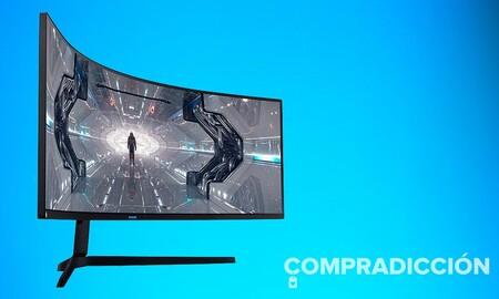 Un bestial monitor para jugar como el Samsung Odyssey G9 LC49G93TSSRXEN sale ahora casi 230 euros más barato en Amazon