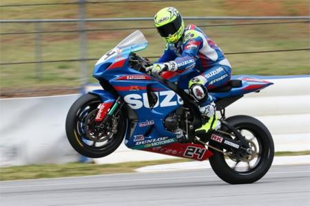 Toni Elias 2016 Motoamerica Suzuki