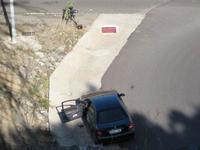 Pillan al coche oficial del Presidente de Extremadura a 170 kilómetros por hora