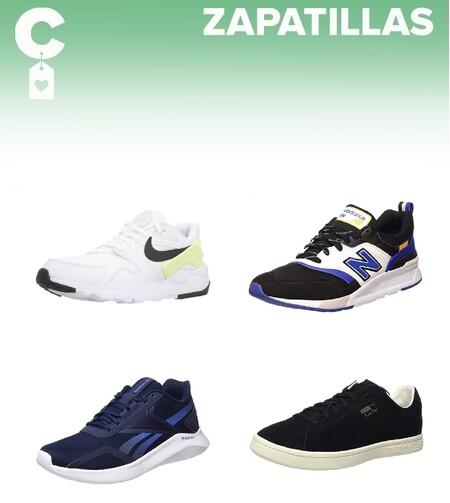 Chollos en tallas sueltas de  zapatillas Puma, Reebok, Nike o New Balance en Amazon