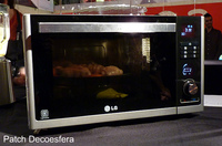 Microondas LG Solar Series, el horno más rápido