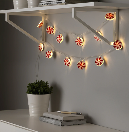 Guirnalda de luces Navidad Ikea