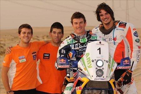 Marc Coma vence el Rally de los Faraones 2010 y se proclama Campeón del Mundo de Rallyes
