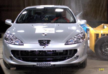 Peugeot 407 Coupe - EuroNCAP