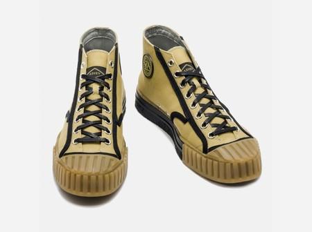 Básicos eternos: exquisitas zapatillas deportivas de caña alta de Adieu-Paris