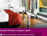Hoteles.com te regala una noche gratis por cada diez reservas que acumules