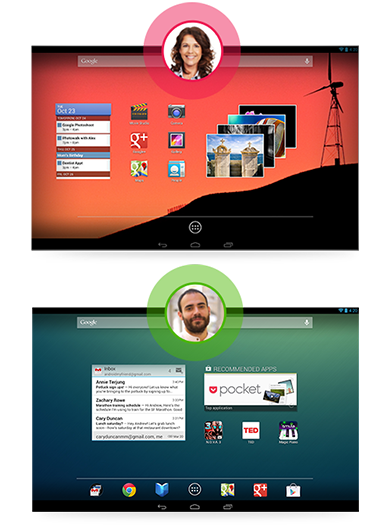 Cuentas multiusuario en Android