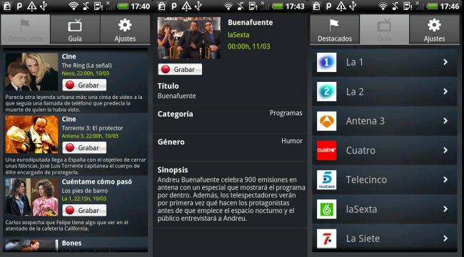 SincroguiaTV android
