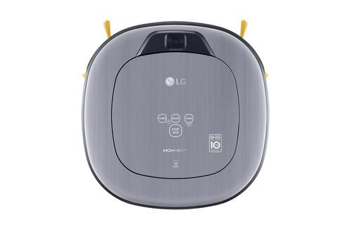 LG presenta el Hombot Square Turbo, un robot aspirador equipado con  sistema de videovigilancia