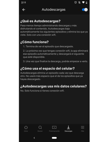 Auto Descargas Netflix Mexico