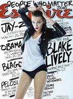 Blake Lively hecha toda una rockera en Esquire