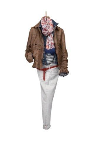 Lookbook Massimo Dutti Otoño-Invierno 2010/2011, cazadora cuero