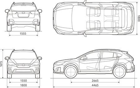 Subaru XV dimensiones