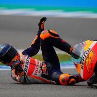 Pol Espargaró es el piloto que más se ha caído en MotoGP 2021, trece veces, y Honda arrasa por marcas