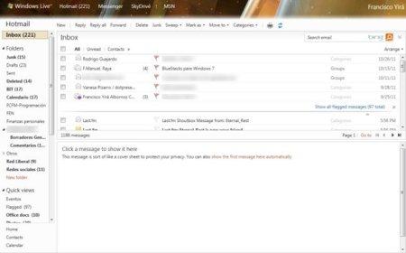 Un vistazo a las nuevas funciones de Hotmail: categorías, acciones rápidas y más