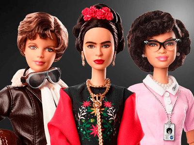 Barbie rinde homenaje a iconos femeninos en el Día Internacional de la Mujer