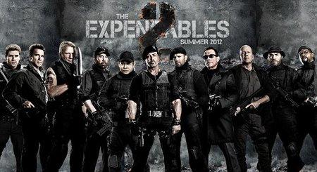 'Los Mercenarios 2', diversión nostálgica y hostias como panes