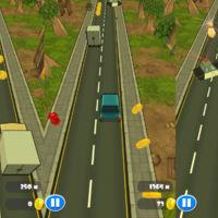 The Getaway: Traffic Racer 3D, simplicidad y velocidad para huir de la policía