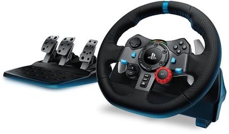 Para hacer más reales tus juegos de conducción de Playstation, el Logitech Driving Force G29, en Mediamarkt, te sale por 229 euros