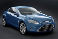 Recreaciones de un posible nuevo Ford Capri