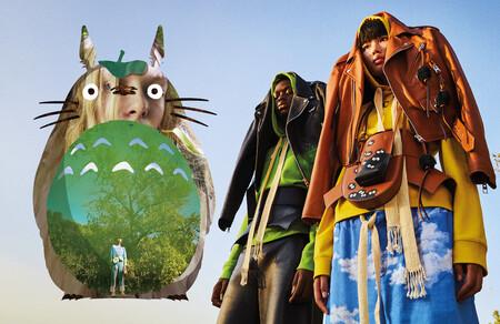 Loewe x Mi vecino Totoro nos presenta una campaña tan maravillosa como todas las prendas de esta nueva colección