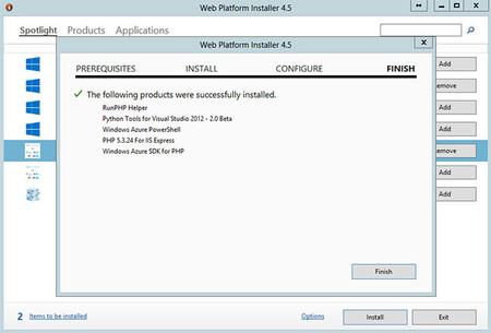 Django en Visual Studio 2012, pre requisitos instalados