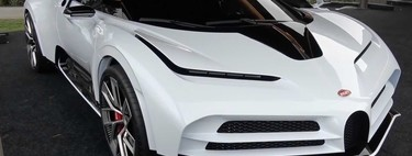 Video, el Bugatti Centodieci se deja ver rodando silenciosamente en Bélgica