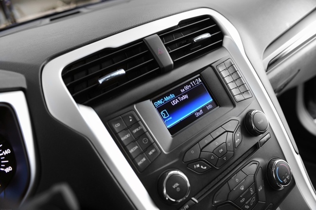 Ford SYNC USA Today app
