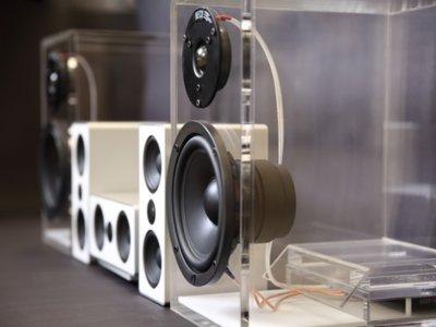 Estos altavoces transparentes utilizan la misma tecnología DECT que tu teléfono inalámbrico