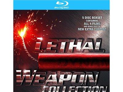 Pack Recopilatorio Arma Letal, en Blu-ray, por 11,69 euros