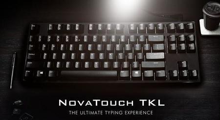 Cooler Master NovaTouch TKL, no es un teclado mecánico pero funciona como uno