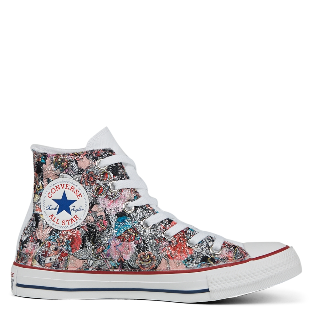 Glitter Tattoo Chuck Taylor All Star High Top unisex