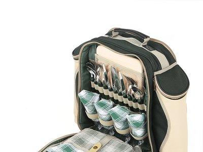 Vete de picnic 100% equipado con esta mochila Greenfield Collection Deluxe para 4 personas: ahora 60,92€ en Amazon