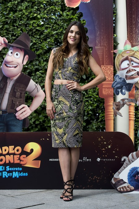 premiere tadeo jones 2 estreno madrid look estilismo outfit celebrity adriana ugarte