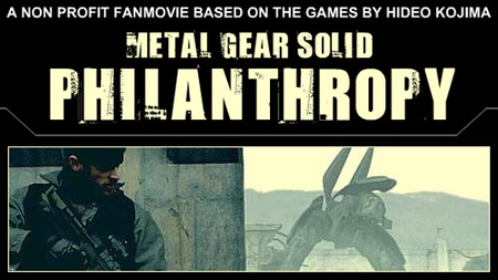 Metal Gear Solid: Philanthropy, la película no oficial de 'Metal Gear Solid'