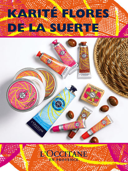 """Nuevo jabón solidario 2012 y corporales L'Occitane-en-Provence, edición limitada Karité """"Flores de la suerte"""""""