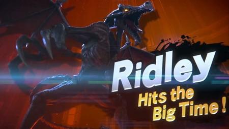 Ridley por fin se unirá a la batalla en Super Smash Bros. Ultimate junto con Daisy e Inkling [E3 2018]