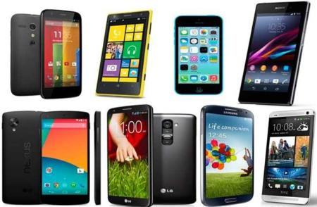 Ocho teléfonos de 2013 que merece la pena comprar ahora