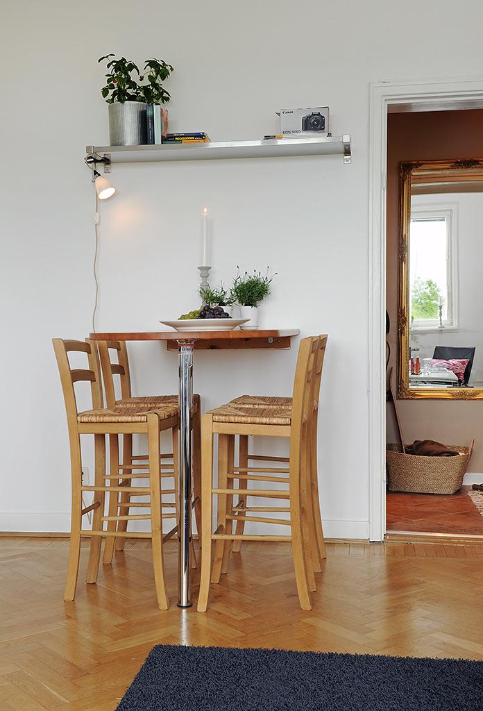 Foto de Puertas abiertas: un apartamento de 38 metros cuadrados de inspiración escandinava (11/12)