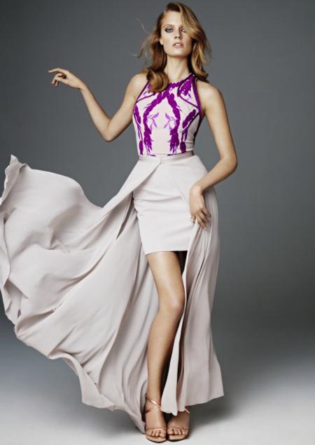vestido H&M primavera 2012