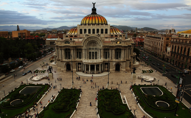 Palacio Bellas Artes Mexico